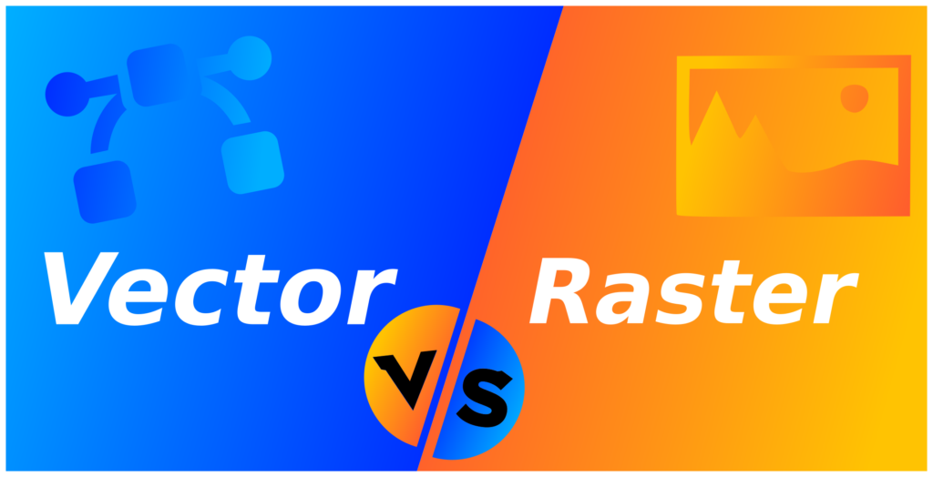Raster and Vector File format banner