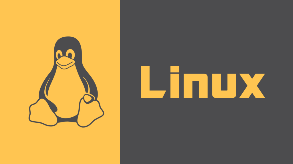 Linux with it's penguin Logo