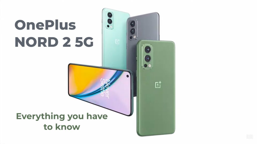 OnePlus Nord 2 in three Color variant